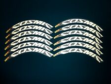 MAVIC COSMIC CARBONE ULTIMATE REFLECTIVE REPLACEMENT RIM DECAL SET FOR 2 RIMS
