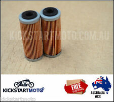 Oil Filters for KTM 350EXC 350EXF 350XCF Freeride (Twin Pack) 2011 2012 2013 EXC