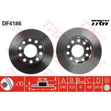 Disque de frein, 1 unités trw df4186