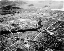 Photo: Hiroshima Aerial: Ground Zero At The Aioi Bridge - The Day After