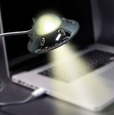 Ufo Usb Luz-Platillo Volador Light, LED lámpara de escritorio