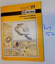 ALPINE'77 SKI-DOO PARTS CATALOG