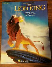 Disney The LION KING Sheet Music EASY PIANO Songbook Sheet Music Hal Leonard New