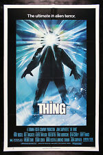 THE THING * CineMasterpieces NM C9 UNUSED MOVIE POSTER MONSTER HORROR 1982