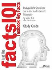 Studyguide for Questions That Matter: an Invitation to Philosophy by Ed....
