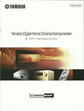 Yamaha Katalog Prospekt DSP-AZ1 DSP-AX3200 RX-V1200 AX-892 AX-596 KX-493