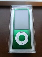 Apple 8GB iPod Nano 5th Generation Green Camera A1320 New