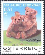 Austria 2002 Orsacchiotti/Giocattoli/balena/Animali/Business/Teddies 1v (b9321)