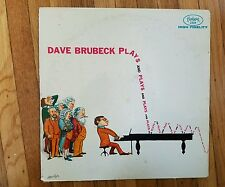 Dave Brubeck Plays and Plays and Plays Solo Piano LP 3259 Near Mint Vinyl Jazz