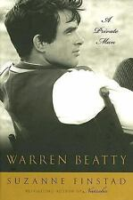 WARREN BEATTY A Private Man by Suzanne Finstad BRAND NEW HARDCOVER