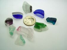 Assorted Surf Tumbled Sea Beach Glass Lot 3568