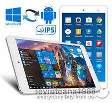 """8"""" Inch Cube Air FullHD TABLET PC White 32GB/2GB Intel WINDOWS 10 & ANDROID 5.1"""