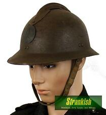 GENUINE WW2 M26 FRANCE FRENCH ARMY ADRIAN STEEL HELMET