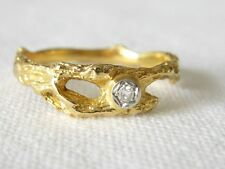 Ring orig. LAPPONIA C8 Gold 750 Damenring Brillant 0,02 ct Gold 18k Ladies Ring