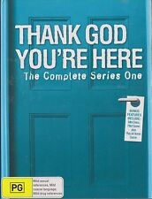THANK GOD YOU'RE HERE - 1st Series. Australian Comedy (3xDVD + GAME BOX SET)