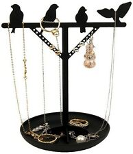 Kikkerland BIRD IS THE WORD Jewelry Stand for earrings,rings,necklaces,bracelets