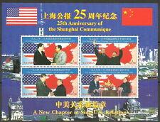 Namibia - 25 Jahre Communiqué von Shanghai Kleinb. postfrisch 1997 Mi. 897-900