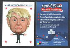 PROMO CARD: DONALD TRUMP MAGA SQUEEZEEZ MEGA-HEAD (card only) PHILLY SHOW