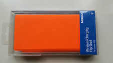Official Sealed Nokia Lumia 830 Wireless Charging Flip  Case CP-627 - Orange