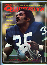 Pro Quarterback # 3  Jan 1972 Terry Bradshaw Carl Eller Bob Brown     MBX16