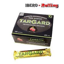 Carbón Targard 33 mm. Caja de 10 tabletas Carbón Aroma Manzana Shisha Cachimba