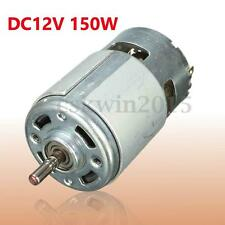 DC12V-24V 150W 13000~15000RPM 775 Micro Motore 5mm Shaft High Speed