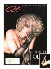Art Fantastix #1-The Art of Olivia-Design-Erotik-Airbrush-Tattoo-Artbook-rare