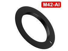 M42 Lens to AI Body Non Flanged Adapter F Mount for NIKON SLR DSLR - UK SELLER
