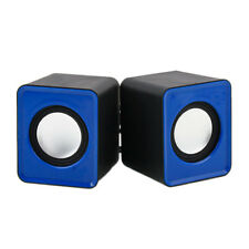 New A Pair USB Multimedia Mini Speaker 3.5mm Jack for Computer Desktop PC Laptop