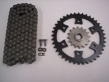 BOMBARDIER DS650 all models SPROCKET & CHAIN SET 16/40 2000 - 2003 blk