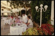 146042 Dining On The Patio Is Always An Experience A4 Photo Print