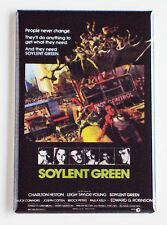 Soylent Green FRIDGE MAGNET (2 x 3 inches) movie poster charlton heston
