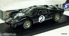 SOLIDO 1/43 - 143424 FORD GT40 MK2 1966 DIECAST MODEL CAR IN BLACK