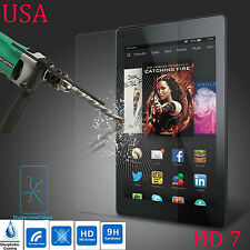 TEMPERED GORILLA GLASS SCREEN PROTECTOR FOR AMAZON KINDLE FIRE HD 7 USA