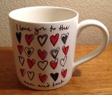 Carly Dodsley Royal Stanford Coffee Mug, I Love You To The Moon And Back