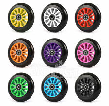 100mm Stunt Scooter Wheels + ABEC9 // Fit TBF Slamm Razor MGP Grit Great Nice