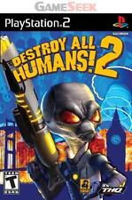 DESTROY ALL HUMANS 2 - PLAYSTATION PS2 BRAND NEW FREE DELIVERY