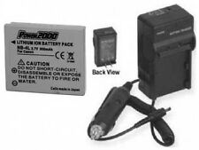 Battery + Charger for Canon 100HS 300HS IXUS 115 220 HS