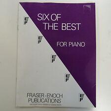 PIANOFORTE sei dei migliori, Fraser ENOCH