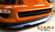 Toyota Supra mk4 Active Spoiler Lip OEM Style Gloss Front Bumper Lip v4