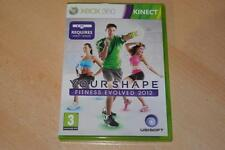 Your Shape Fitness Evolved 2012 Xbox 360 Kinect PAL de Reino Unido (G)