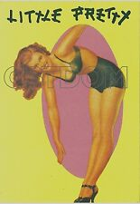 CPSM Pin-up Little Pretty - AVIREX - Nue Nude girl