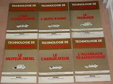 (35A) TECHNOLOGIE DE L' AUTOMOBILE : ALLUMAGE/FREINAGE/CARBU/DIESEL/AIR/RADIO