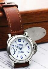 PANERAI | A RARE LIMITED EDITION STAINLESS STEEL WRISTWATCH REF 5218 - 2...