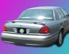 Ford Crown Victoria 1998-2008 Custom Style Rear Spoiler Primer Finish USA