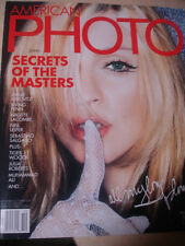 october 2001 American Photo Madonna cover RARE
