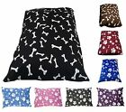 Quilt filled or Memory Foam fielld dog beds and covers. Size- Large