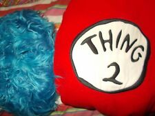 POTTERY BARN KIDS DR.SEUSS THING 2 COSTUME 2T-3T GREAT FOR FRIENDS,COUSINS NEW