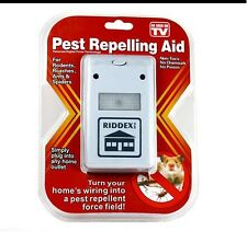Riddex Plus Pest Repeller As Seen on TV Aid for Rodents Roaches Ants Top Seller