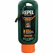 Repel Insect Repellent Sportsmen Max Formula Lotion 4oz 40% DEET Bug/Mosquito